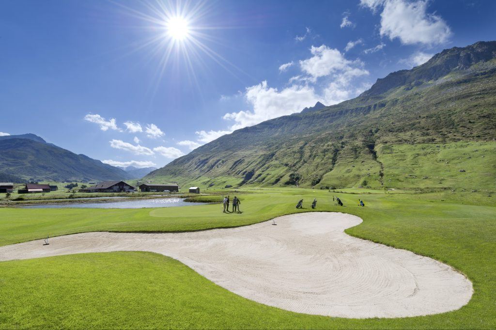 Andermatt Swiss Alps Golf