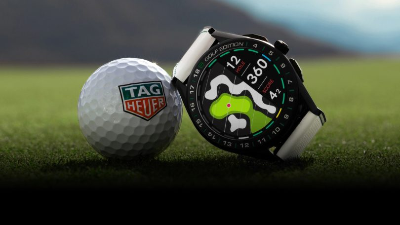 Tag Heuer Golf Connected watch