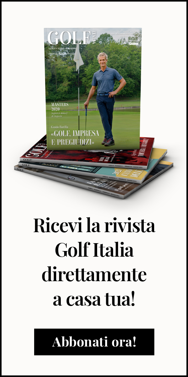 Abbonamento Golf Italia rivista cartacea